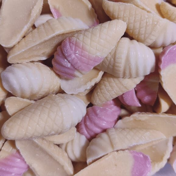 Close up of Candy Cones Sweets